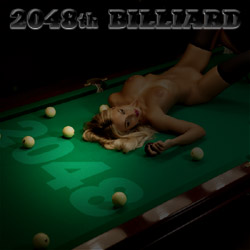 2048th Billiard strip mobile game