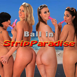 Ball in StripParadise - mobile adult game