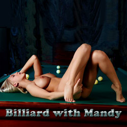 Billiard With Mandy adult mobile game