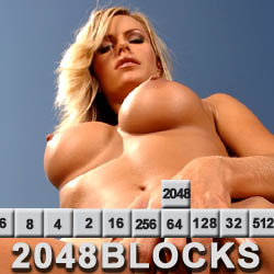 2048 Blocks strip mobile game
