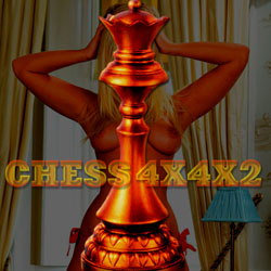 Chess4X4X2 - mobile adult game