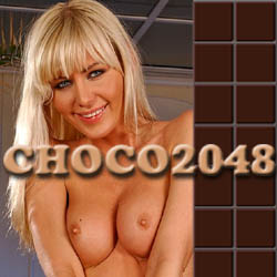 Choco2048 - mobile adult game
