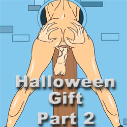 Halloween Gift Part 2 - mobile adult game
