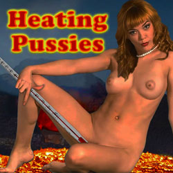 Heating Pussies strip mobile game