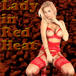 Lady in Red Heat adult game