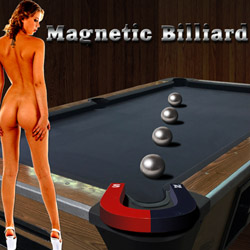 Magnetic Billiard strip mobile game