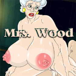 Mrs. Wood strip mobile game