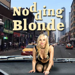 Nodding Blonde strip mobile game