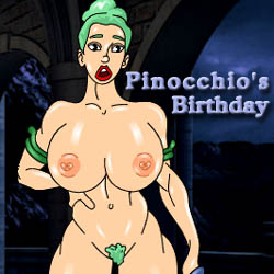 Pinocchios Birthday - mobile strip game