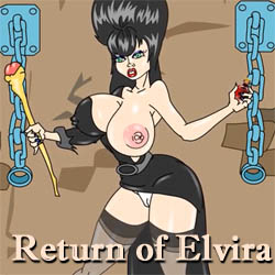 Return of Elvira adult game