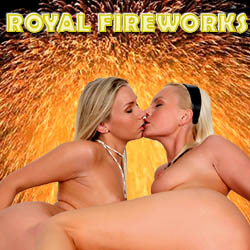 Royal Fireworks adult mobile game