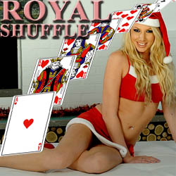 Royal Shuffle strip mobile game