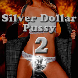 Silver Dollar Pussy-2 strip mobile game