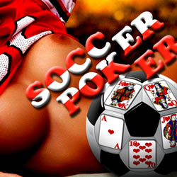 Soccer-Poker adult game