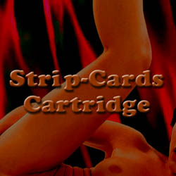 Strip-Cards Cartridge adult game