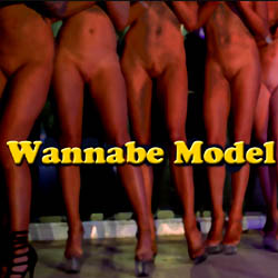Wannabe Model adult game